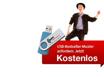 USB-Stick als Muster kostenlos anfordern !