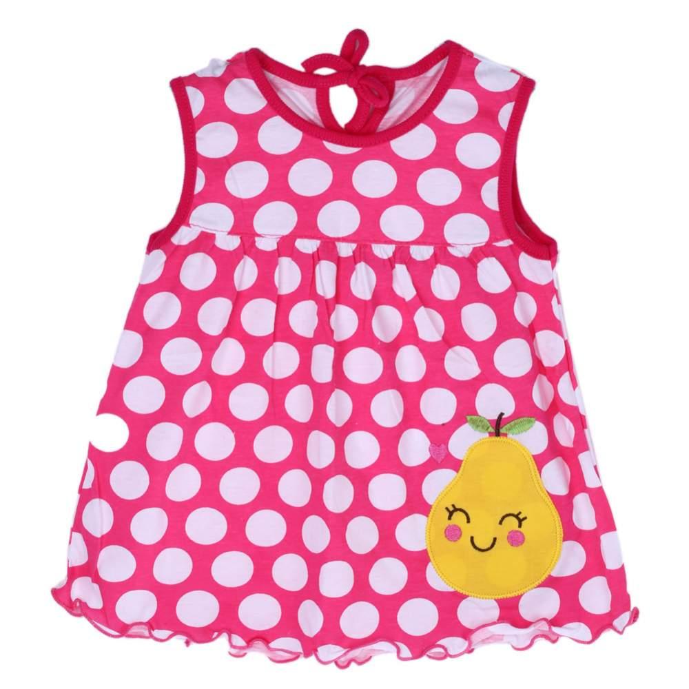 Hot Lovely New Baby Mädchen Kleidung Kleid Mode Reiner Baumwolle Cartoon Mädchen Kleidung Baby Ärmelloses Kleid 0-2Y