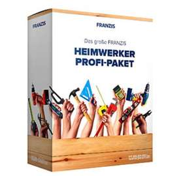 [Pearl.de] Franzis große Heimwerker Profi-Paket + die Software Design CAD