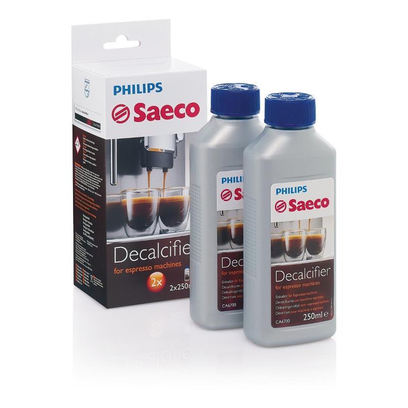 Philips Saeco Entkalker CA6701/00 500 ml (2* 250 ml) für Kaffeevollautomaten und Espressomaschinen