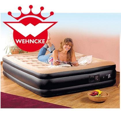 Wehncke Komfort-Luftbett mit integr. elektrischer Pumpe für 39,99 @ Rossmann