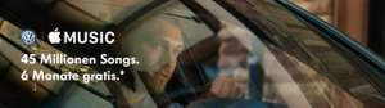 3 Monate Apple Music Gratis für VW Kunden ab MJ 2018 über Car-Net App