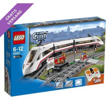 LEGO City - Hochgeschwindigkeitszug (60051) für 84€