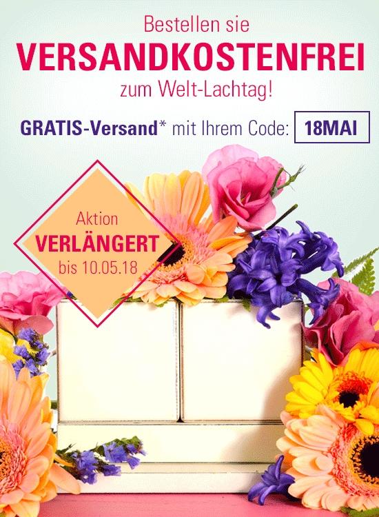 Gratisversand bei Witt Weiden bis 10.05.2018 ab 25,- € Mindestbestellwert