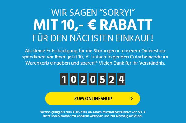 Schäfer-Shop 10 € Rabatt bei 50 € Mindestbestellwert bis 18.05.2018