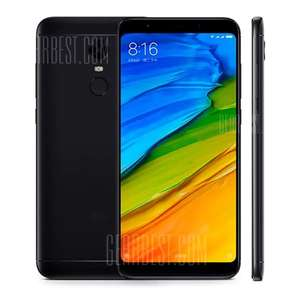 "Xiaomi Redmi 5 Plus Global (6"" FHD+, 3GB RAM, 32GB ROM, Snapdragon 625, B20) für 126,82€ [Gearbest]"