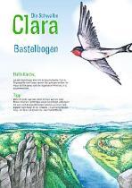 Die Schwalbe Clara - Bastelbögen kostenlos bestellen oder downloaden
