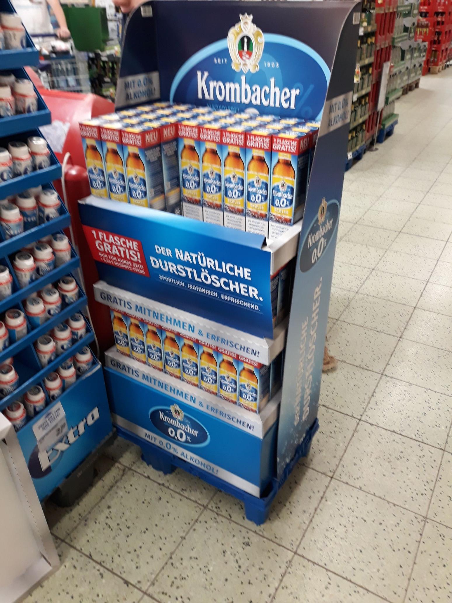 Krombacher Radler Alkoholfrei für 0,08 € (Real Bundesweit)