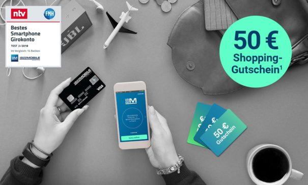 50 € BestChoice beim neuen 1822 Mobile-Konto