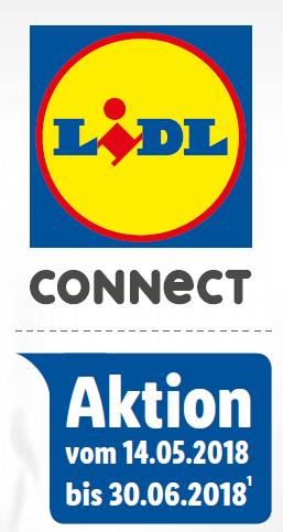 [Lidl Connect] Bis zu 40% Bonusguthaben (entspricht 29% Rabatt) bei 5€ bis 25€ Aufladung, 14.05.-30.06.