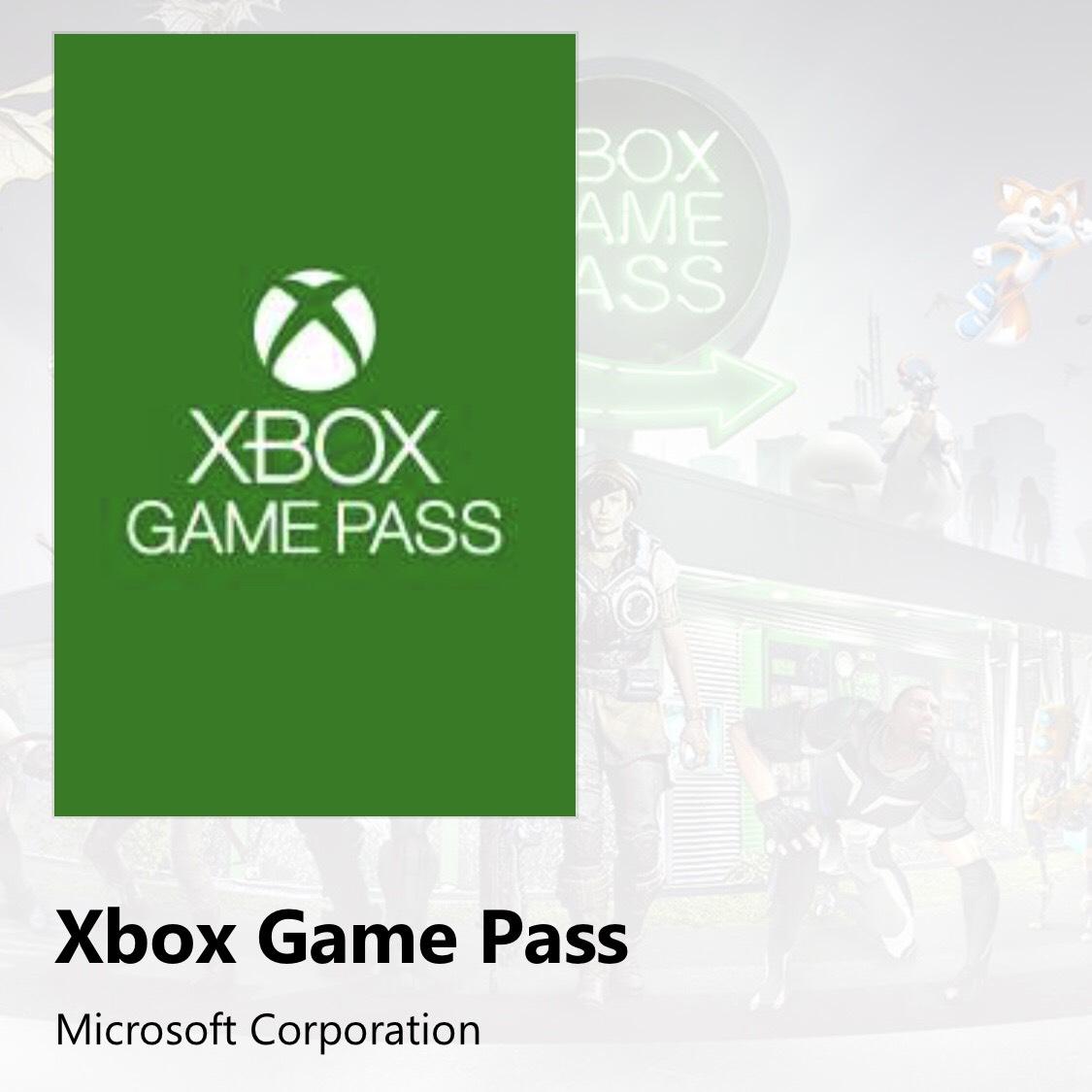 Xbox Game Pass Microsoft Corporation