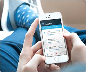 [Web.de / GMX / Webcents] bis zu 8.000 Webcents [entspricht 80 €] für die Anmeldung bei Treefin (Finanzverwaltungsapp) und Übertagung einer Maklervollmacht [web.de Clubmitglieder]