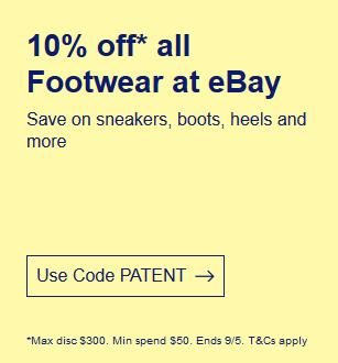 [EBAY] - 10% auf Schuhe ab ca. 32€ MBW durch Umzug nach Australien (3x möglich)
