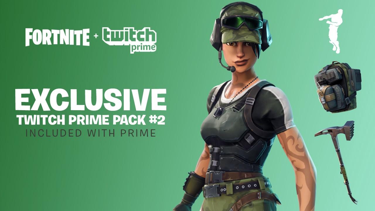 Fortnite Battle Royale neuer Twitch Prime Pack #2 gratis