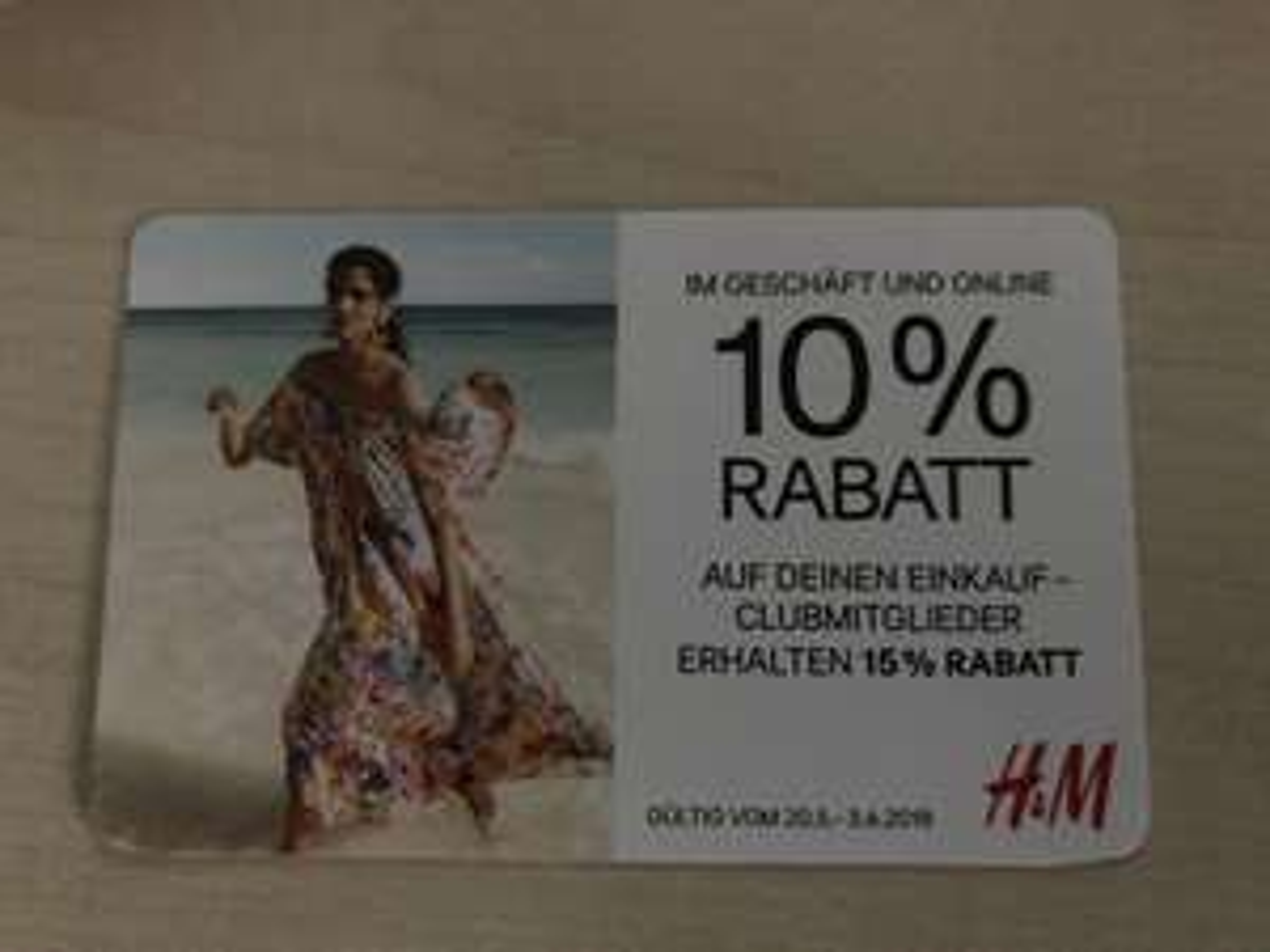 H&M 15% Ersparnis für Clubmitglieder