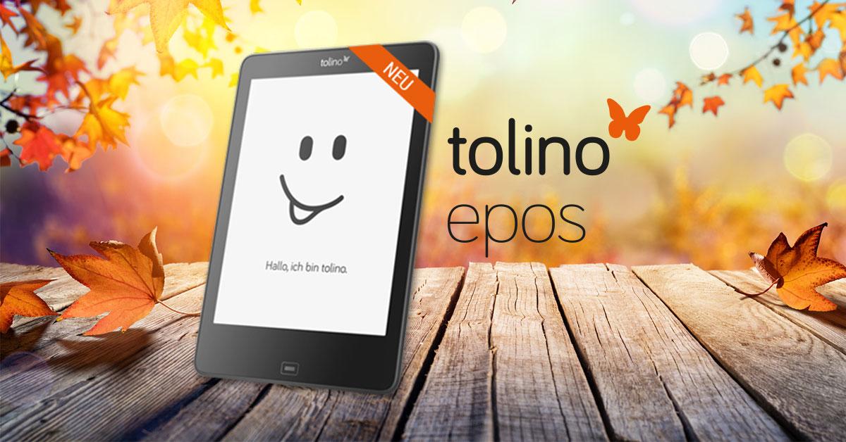 """Tolino Epos 8"""" eReader für 199€ und 30fach payback-Punkte (= -29,70€)"""