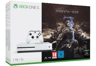 Xbox One S (1TB) Mittelerde: Schatten des Krieges & Sea of Thieves Bundle für je 211€ (Saturn und Amazon)