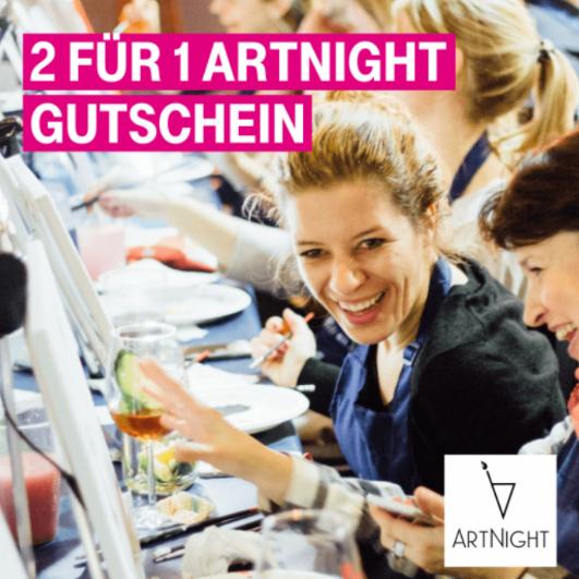2 für 1 ArtNight Gutscheine (Telekom)
