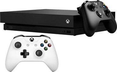 Xbox One X 1TB Bundle inkl. 2. Xbox Wireless Controller für 449,99€ - mit REWE 404,99€ möglich - für ALLE [OTTO]