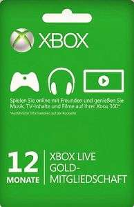 [VPN] 12 Monate Xbox Live für 34,95 Euro (-2 % Shoop.de)