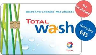 [gewerblich] 45€ Waschguthaben geschenkt bei Abschluss von TOTAL Tankkarte