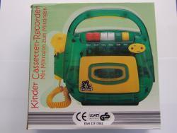 Kinder Kassettenrekorder XL5211 m. Aufnahmefunktion u. Mikro für 5,-- € inkl. Versand!