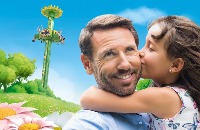 Freier Eintritt für Mama und Papa in den Holidaypark - Voraussetzung zwei Kinder die bezahlen