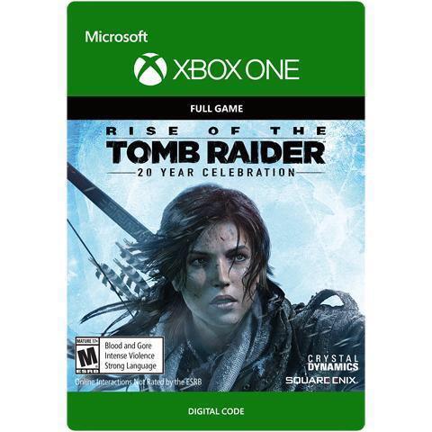 Rise of the Tomb Raider: 20-jähriges Jubiläum (Xbox One Digital Code) für 15,10€ (Amazon US
