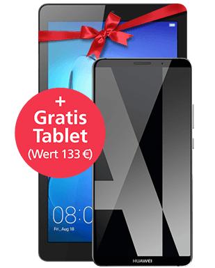 Huawei Mate 10 Pro mit Tablet Direkt bei O2 mit O2 Free M 15 GB