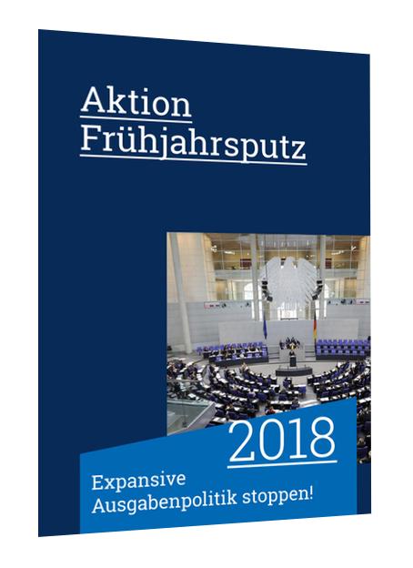kostenlos Aktion Frühjahrsputz 2018 + Das Schwarzbuch 2017/18
