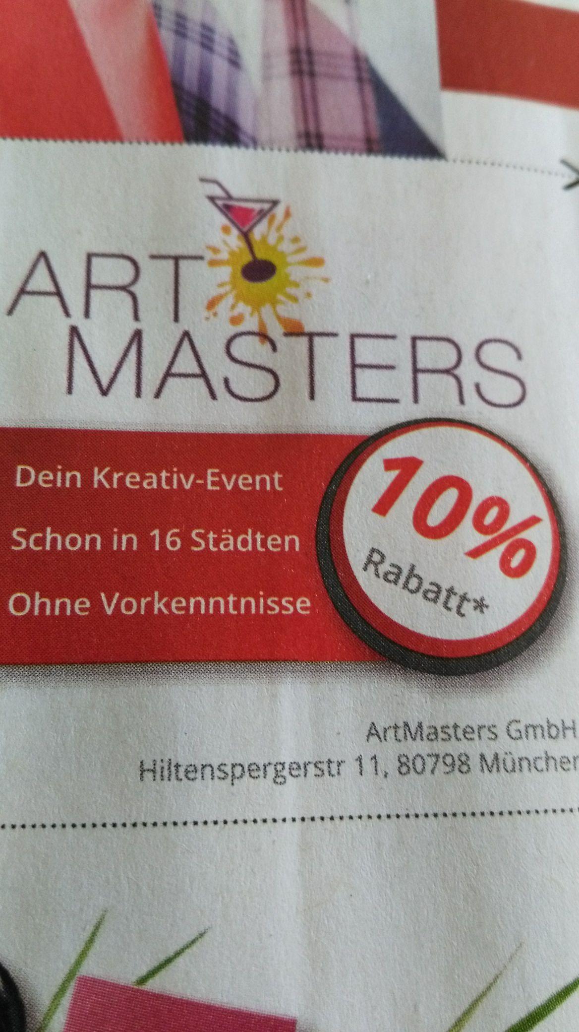 [ArtMasters] 10% Rabatt