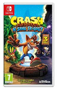 Crash Bandicoot: N. Sane Trilogy (Nintendo Switch) bei Amazon.co.uk