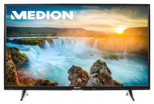 "MEDION LIFE X16015 UHD 4K 101,6cm/40"" LED-Backlight TV HD Triple Tuner WLAN A+ (B-Ware)"