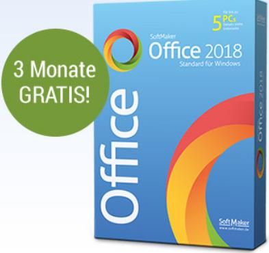 SoftMaker Office 2018 [3 MONATE KOSTENLOS]