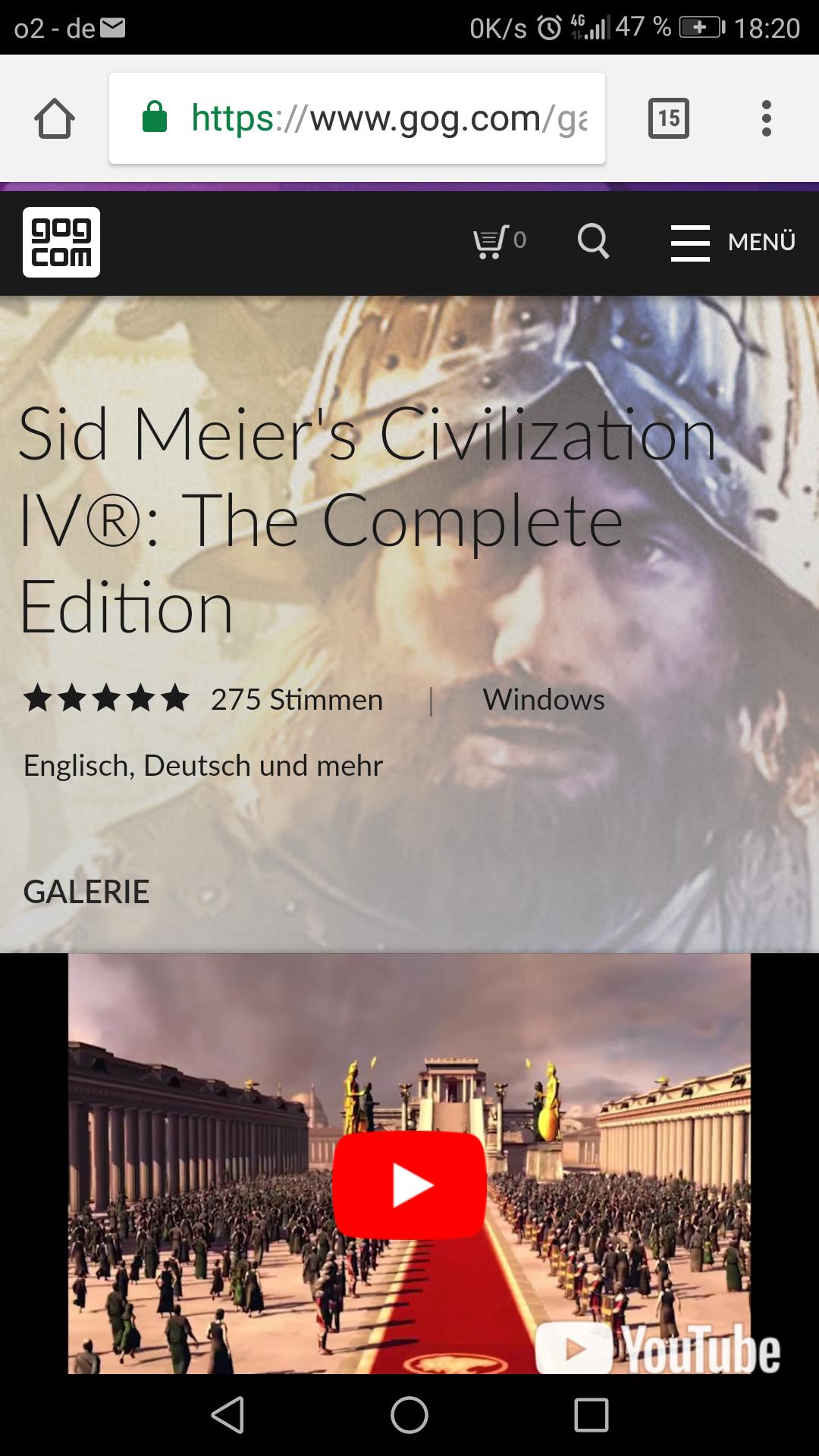 [GOG] Civilisation IV (4)  Complete Version