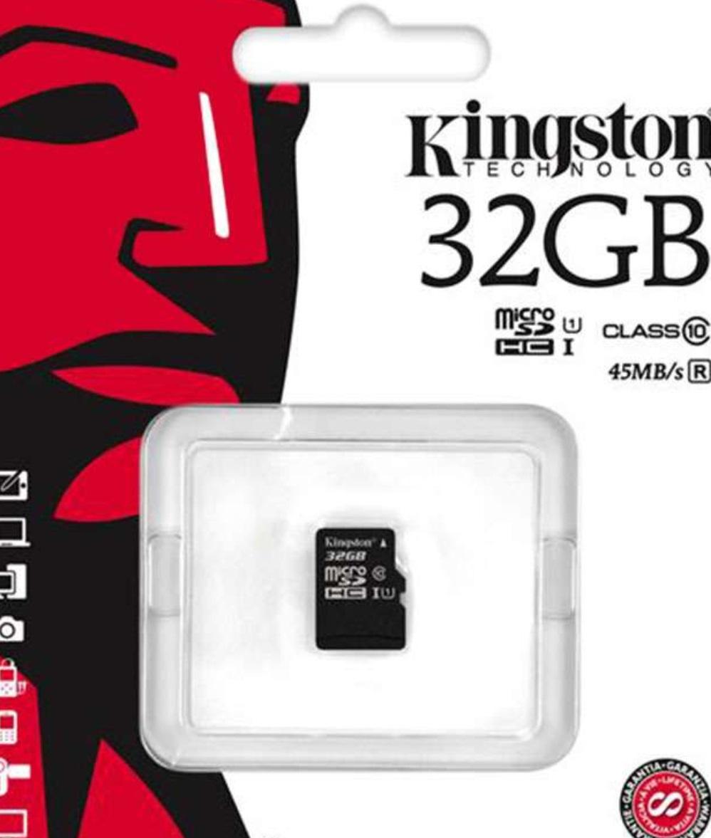 Kingston microSD mit 32GB Class 10 / U1 für 9,40€ [7DayShop]