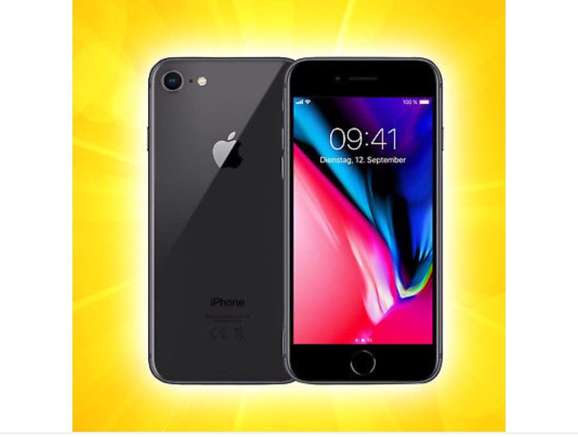 Apple iPhone iPhone 8 - 64GB - Space Grau (Ohne Simlock)  NEU OVP