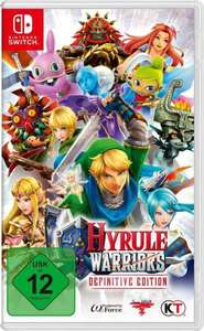 Hyrule Warriors Definitive Edition (Switch) für 39,95€ (4u2play Masterpass)