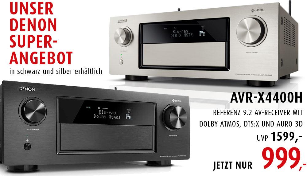 [Lokal] Denon AVR-X4400H (schwarz und silber) bei den Hifi-Profis für 999€