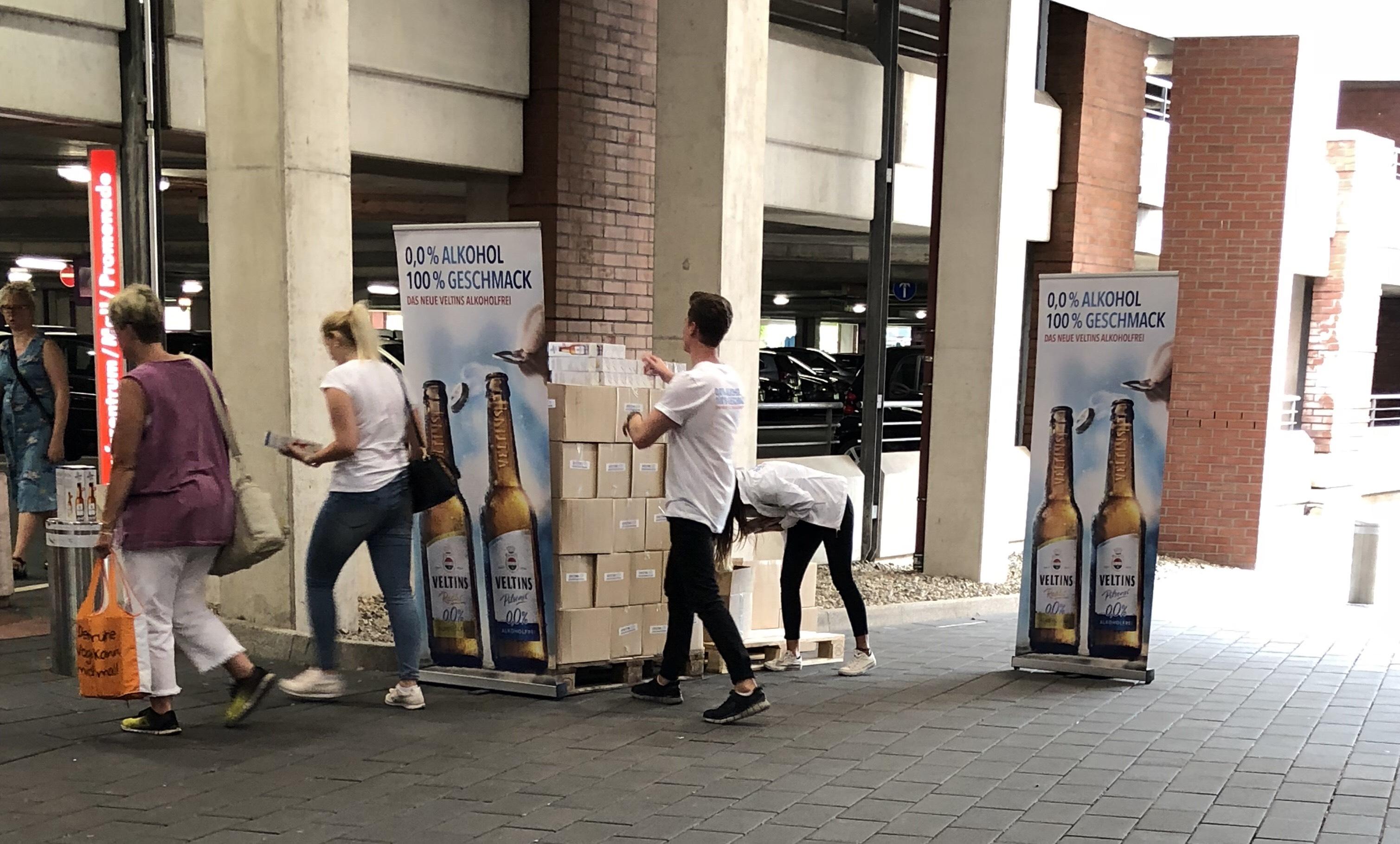 [Lokal Oberhausen] Gratis alkoholfreies Veltins Bier oder Radler