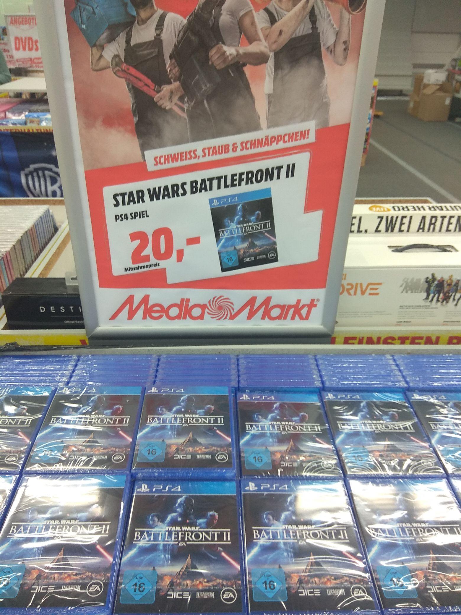 [Lokal Eschweiler] Media Markt - Star Wars Battlefront 2 PS4 (20€)