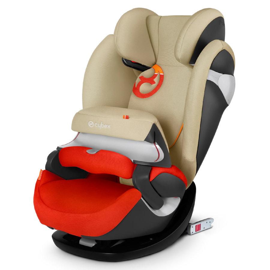 cybex GOLD Kindersitz Pallas M-fix Autumn Gold-burnt red bei Babymarkt