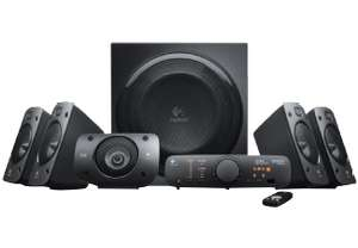 LOGITECH Z906, 5.1 Lautsprechersystem - 179€