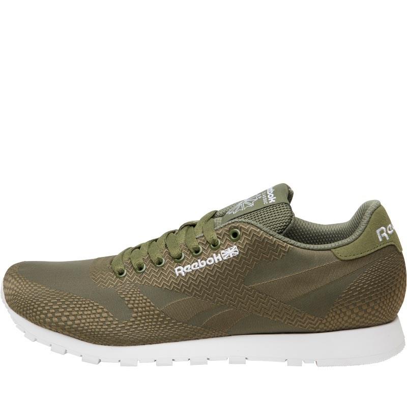 Reebok Classics Herren Runner Jacquard Sneakers Grün