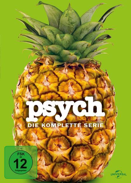 Psych - Die komplette Serie Staffel 1-8 (31 DVDs) für 26,39€ (Thalia)