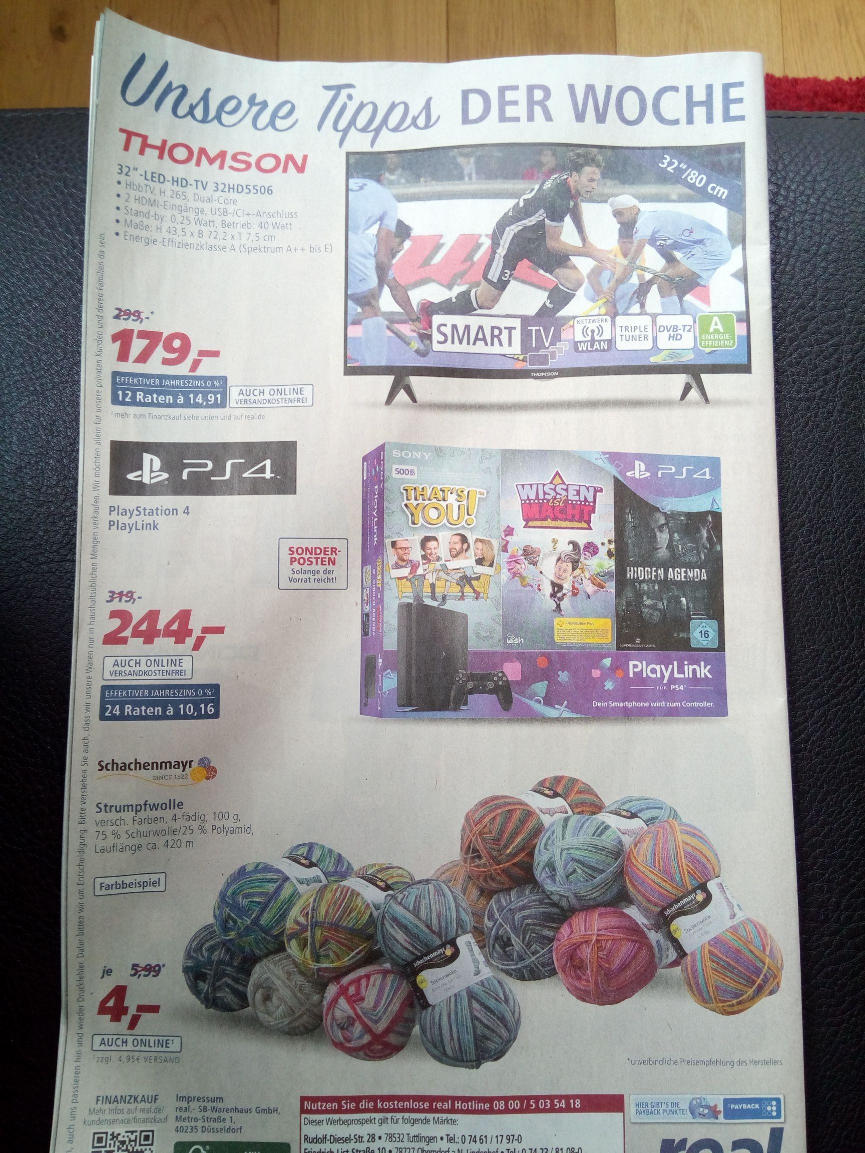 [ab 14.05] Playstation 4 mit 3 Spielen bei Real (auch online)