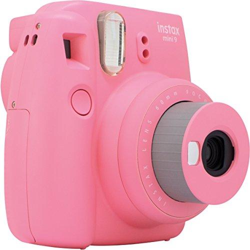 Sofortbildkamera Fujifilm Instax Mini 9 in flamingo rosa für 54,99 Euro