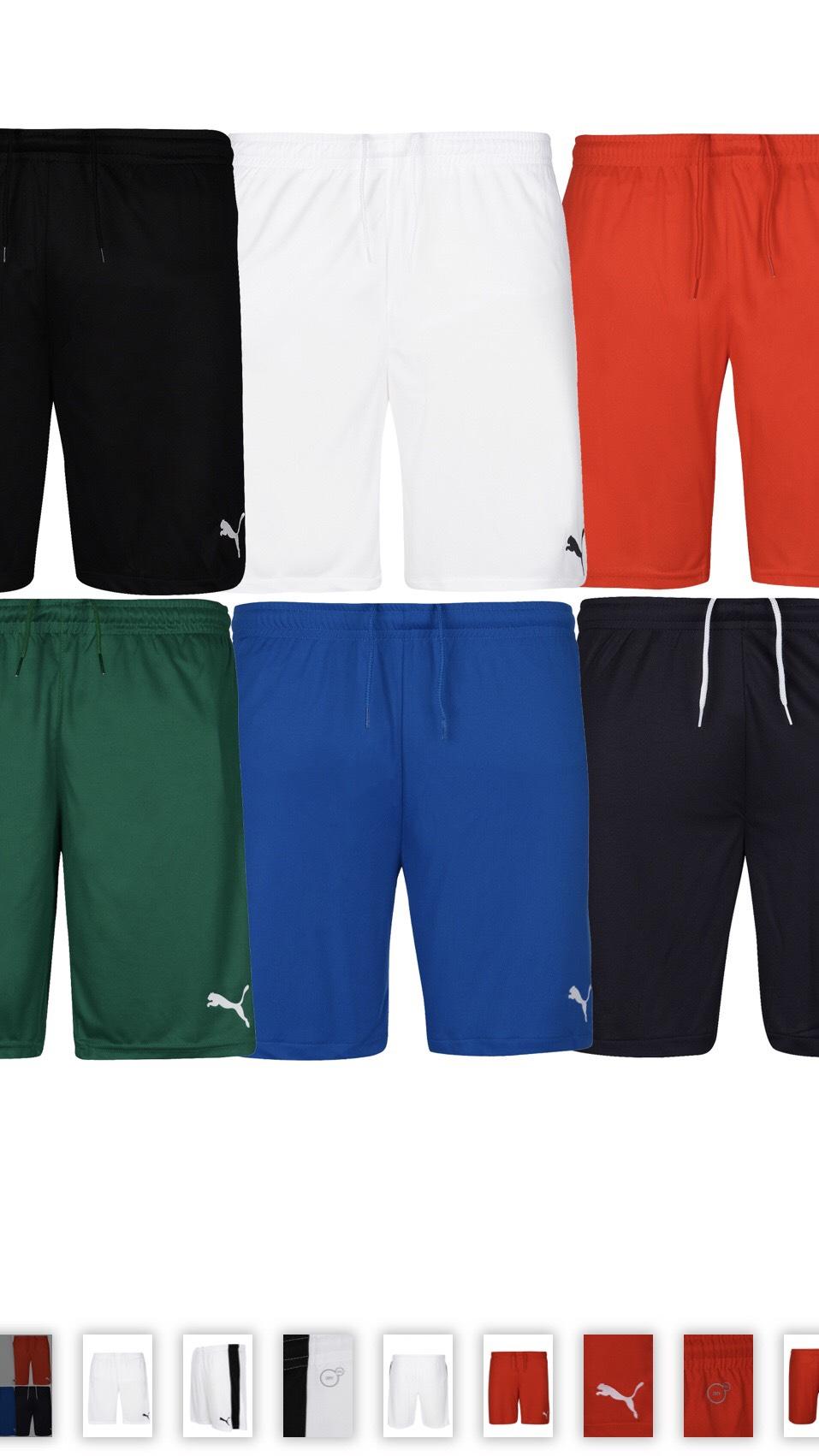 Puma Fußball-Shorts / Trainingshosen