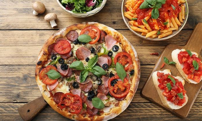 Pizza oder Pasta All-you-can-eat für zwei oder vier Personen im Pizza Paradies [LOKAL] Köln]