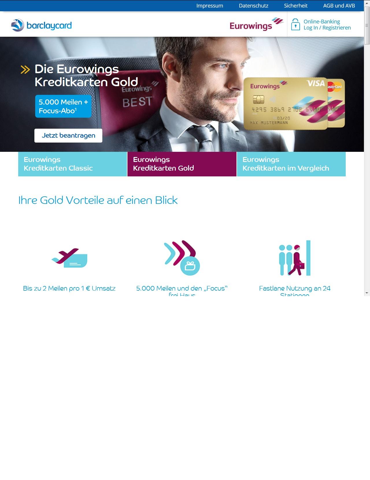Kreditkarte und FOCUS-Halbjahresabo  kostenlos